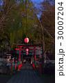 鳥居とちょうちん(下吉田小室浅間神社) 30007204