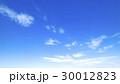 青空 空 雲の写真 30012823