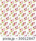 Seamless pattern with pink flowers 30012847