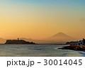 富士山 江の島 海の写真 30014045