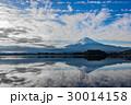 富士山 河口湖 空の写真 30014158