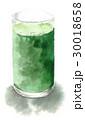 青汁 飲み物 スムージーのイラスト 30018658