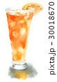 オレンジジュース ジュース 飲み物のイラスト 30018670