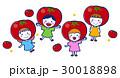 子供 女の子 トマトのイラスト 30018898