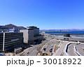 函館駅と函館湾の眺望 30018922