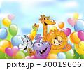 動物 マンガ 漫画のイラスト 30019606