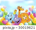 動物 マンガ 漫画のイラスト 30019621