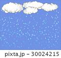 雲と雨の降る背景 30024215