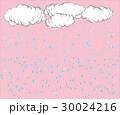 雲と雨の降る背景 30024216
