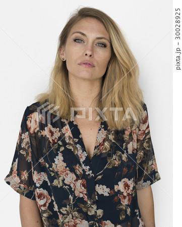 Caucasion Woman Casual Confident Concept 30028925