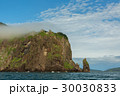 Rocks in the Avacha Bay of the Pacific Ocean 30030833