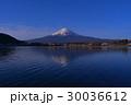 20170420河口湖産屋ヶ崎からの逆さ富士山 30036612
