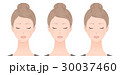 女性 シミ しみのイラスト 30037460