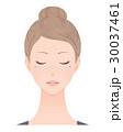 女性 シミ しみのイラスト 30037461