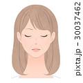 女性 シワ 小ジワのイラスト 30037462
