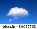 白い雲と青空 30039763