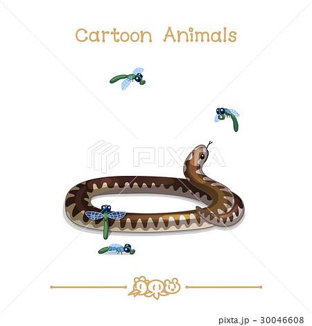 Viper snakeのイラスト素材 [30046608] - PIXTA