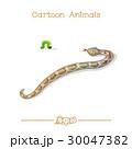 ヘビ 蛇 芋虫のイラスト 30047382