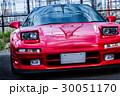 真っ赤なスポーツカー 30051170