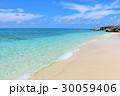 海 ビーチ 波打ち際の写真 30059406