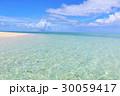 海 沖縄 青空の写真 30059417