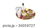 今日の晩酌酎ハイと焼き鳥 30059727