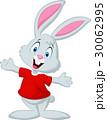 Cute happy baby rabbit cartoon 30062995