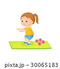 女の子 スポーツ トレーニングのイラスト 30065183