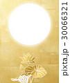 蓮 金 和風のイラスト 30066321