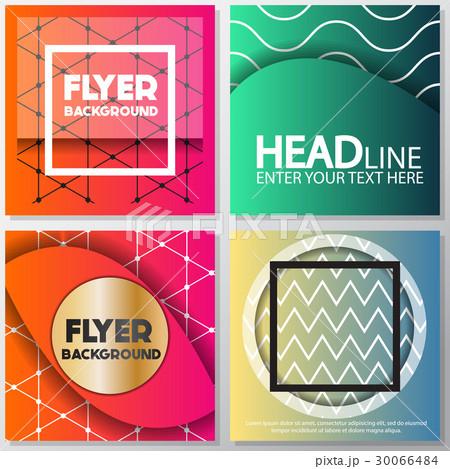 fresh background flyer style background Designのイラスト素材 [30066484] - PIXTA