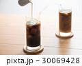 アイスコーヒー ドリンク ミルクの写真 30069428