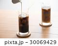 アイスコーヒー ドリンク ミルクの写真 30069429