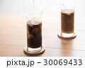 アイスコーヒー ドリンク ミルクの写真 30069433