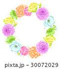 お花 フラワー 花のイラスト 30072029