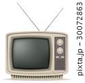 TV テレビ レトロのイラスト 30072863