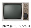 TV テレビ レトロのイラスト 30072864
