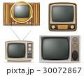 TV テレビ レトロのイラスト 30072867