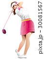 女子ゴルファー 30081567