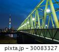 橋 木根川橋 スカイツリーの写真 30083327