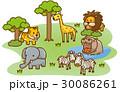 草原の動物達 30086261
