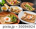 ガレット クレープ フランス料理の写真 30094924