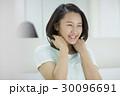 女性 若い ヘアケアの写真 30096691