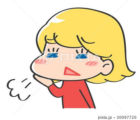 外国人 キャラクター 表情 30097720