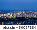 姫路市 夜景 姫路城の写真 30097884