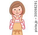 呼びかける女性 30098291