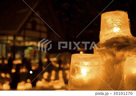定山渓 雪灯路(イメージカット) 30101270