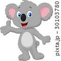 コアラ 動物 マンガのイラスト 30103780