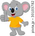 コアラ 動物 マンガのイラスト 30103782
