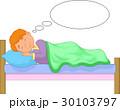 ベッド 夢 少年のイラスト 30103797