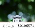 新緑の中の住宅模型 30106571